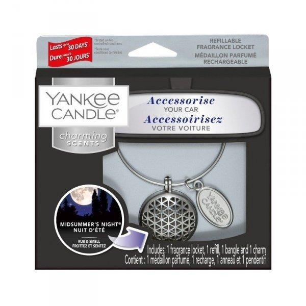 Zestaw z uzupełniaczem Yankee Candle Charming Scents Geometric - Midsummer's Night