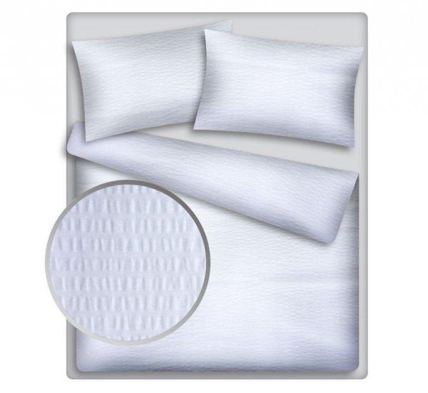 Poszewka 50x80 - KORA bawełniana  wz. biały