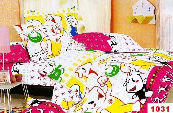 Poszewki na poduszki 40x40 bawełna satynowa wz. 1031