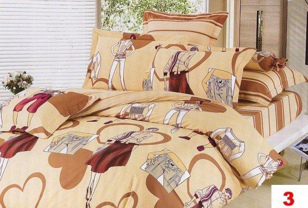 Poszewki na poduszki  40x40 bawełna satynowa wz. 0003