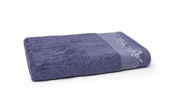 Ręcznik BJORK- rozmiar 70x140 wz. Atramentowy
