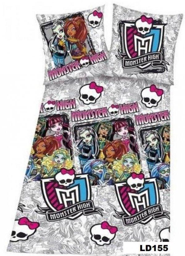 Pościel licencyjna Disney 100% bawełna 160x200 lub 140x200 - Monster High - LD155