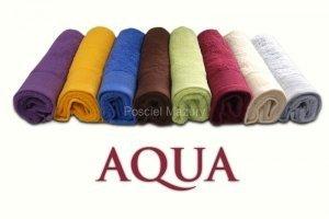 Ręczniki, ręcznik jednobarwne AQUA rozmiar 70x140 wz. ecru