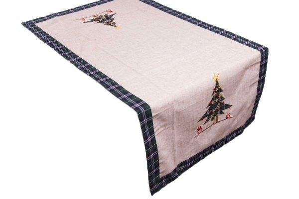 Obrus świąteczny MIŁKA rozmiar 60x120 wzór h639z
