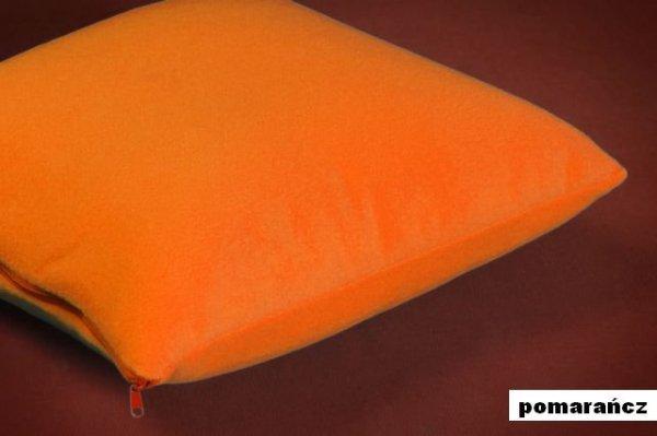 POSZEWKI POLAROWE  70x80   ,przytulny polar wz. pomarańczowy