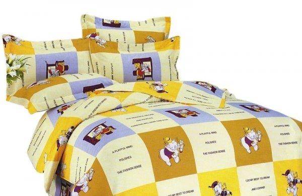 Pościel bawełna satynowa 180x200 na guzik - PROMOCJA ! - wz.0397