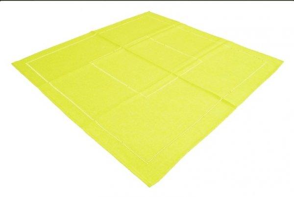 Obrus Technic rozmiar 90x160 wzór żółty (246)