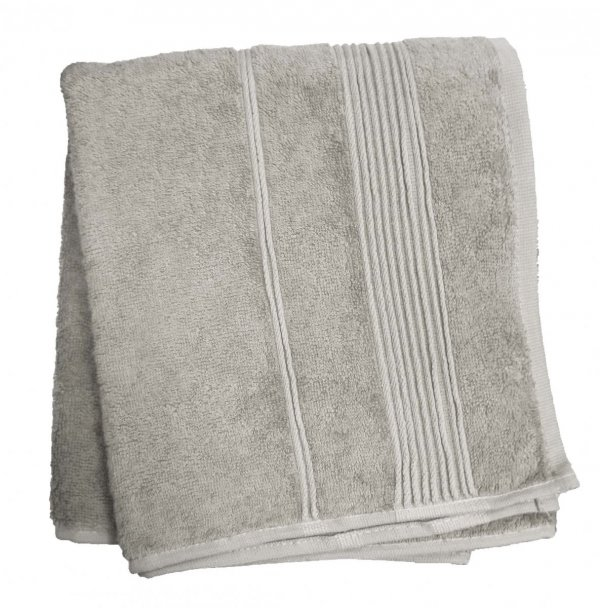 Ręcznik Bambusowy Moreno rozmiar 50x90 - Popiel jasny