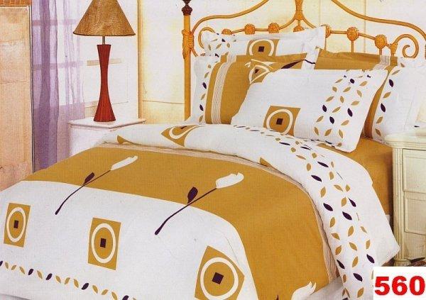 Poszewki na poduszki  40x40 bawełna satynowa wz. 0560
