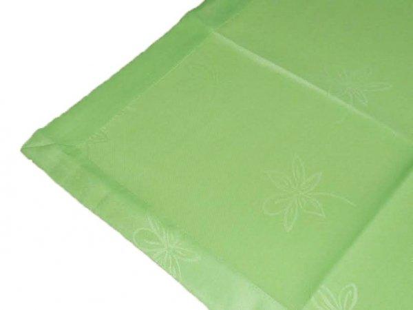 Obrus plamoodporny teflonowy rozmiar 40x90 zielony (205)