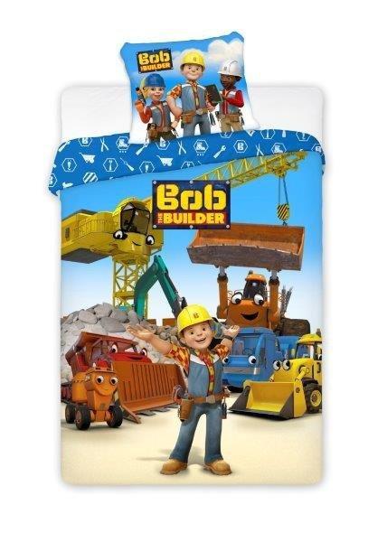 Pościel licencyjna Bob Budowniczy 100% bawełna 160x200 lub 140x200 - wz. 006