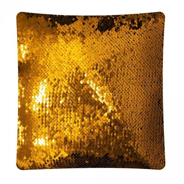 Poduszka ozdobna w cekiny Moose 30x30 - wz. C46K