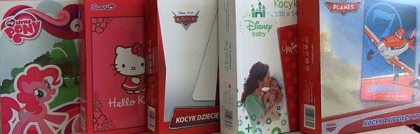 Koc Disney rozmiar 100x140 w pudełku wz. Samoloty