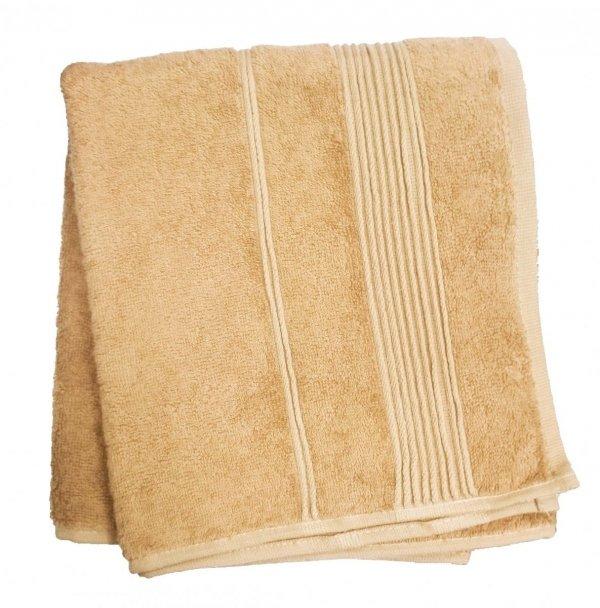 Ręcznik Bambusowy Moreno rozmiar 50x90 - Beżowy