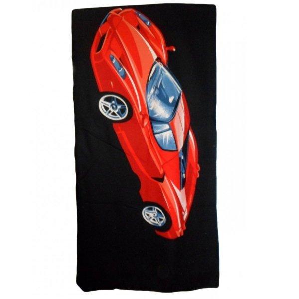 """Ręcznik plażowy """"Ferrari 2""""  - rozmiar 70x148 wz. PL04"""