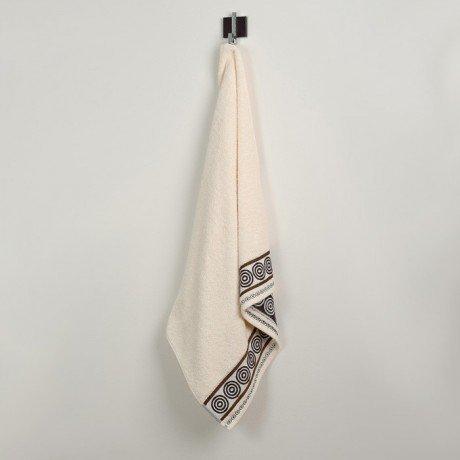 Ręcznik frotte Rondo 50x90 kolor ecru k1