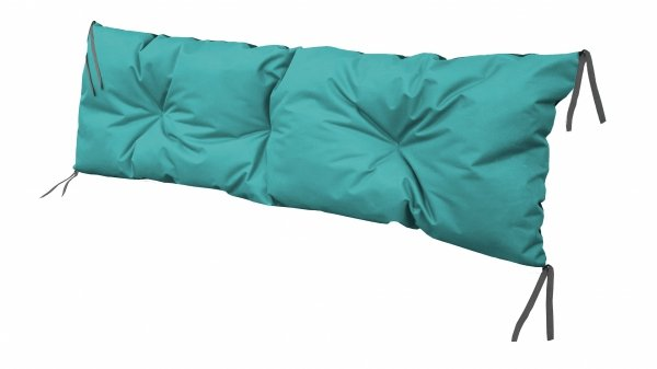 Poduszka na huśtawkę ławkę 120x40 wz. Turkus