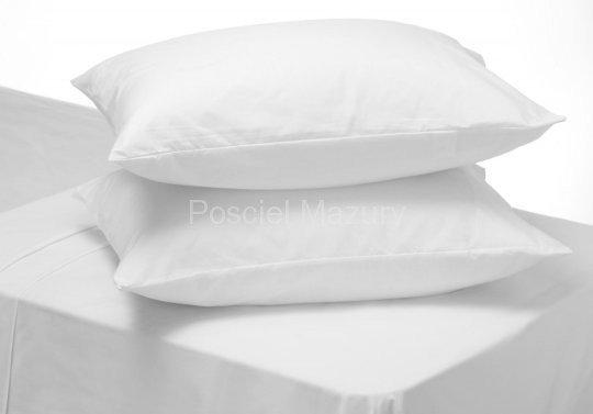 Poszewka, poszewki na poduszkę biała hotelowa, hotel 50x60