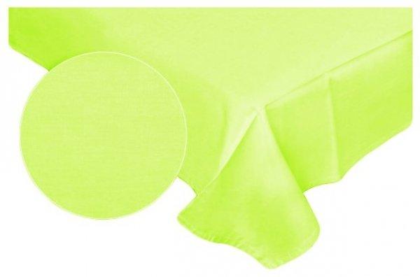Prześcieradło RUBIN 100% bawełna 220x200 bez gumki wz.  limonka 029