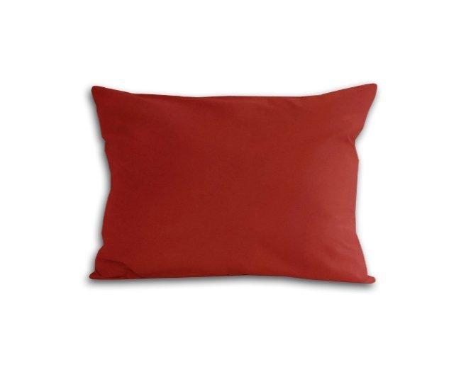 Poszewka na poduszkę 70x80 - 100% bawełna satynowa DARYMEX, zapięcie na zamek wz. bordo 20053