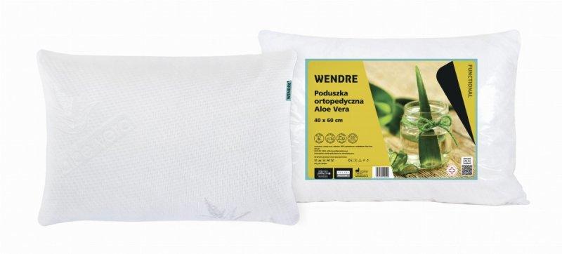 Poduszka ortopedyczna Aloe Vera 40x60 Wendre - wyrób medyczny