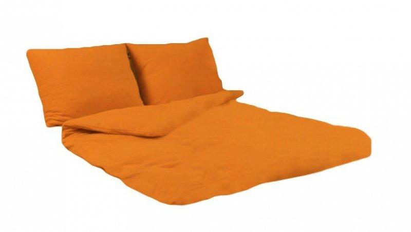 Pościel POLAROWA 180x200 , super miękki polar wz. pomarańczowy