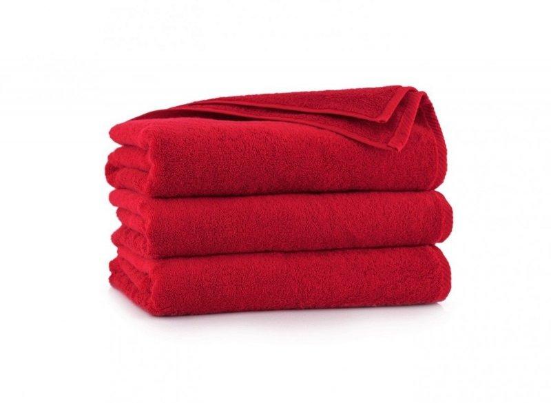 Ręcznik z bawełny egipskiej KIWI 2 70x140 wz. czerwony