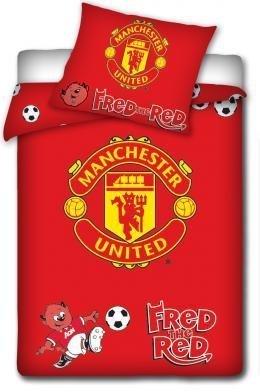 Pościel dziecięca do łóżeczka 100x135 wz. Menchester United