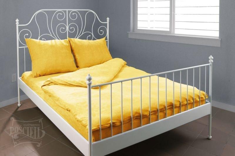 Pościel Frotte wz. 06 żółty rozmiar 160x200