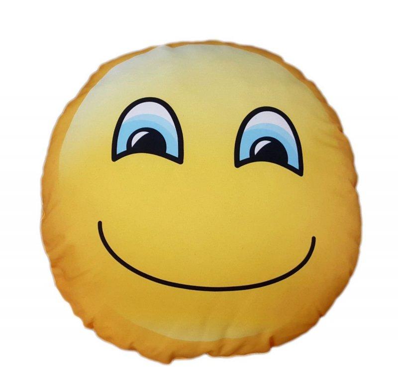 Poduszka emocji dwustronna - usmiechnieta buzia
