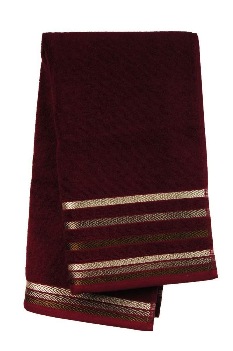 Ręcznik BIANNA 50x90 kolor bordowy