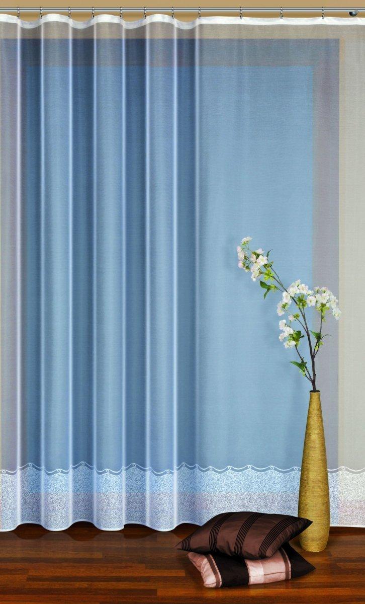 Firana żakardowa kolor kremowy (h max. 1,80m) wz. 31697