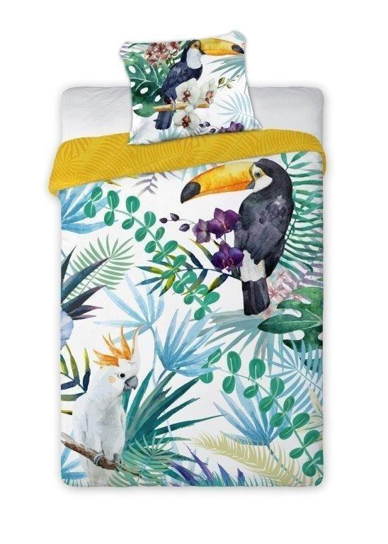 Poszewka na poduszkę 70x80, 50x60, 40x40 lub inny rozmiar - 100% bawełna wz. Tropical Island 001