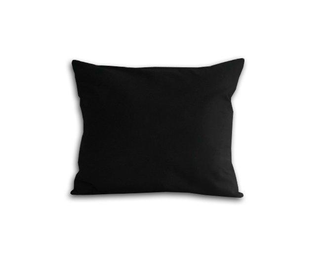 Poszewka na poduszkę 50x60 - 100% bawełna satynowa DARYMEX, zapięcie na zamek wz. czarny