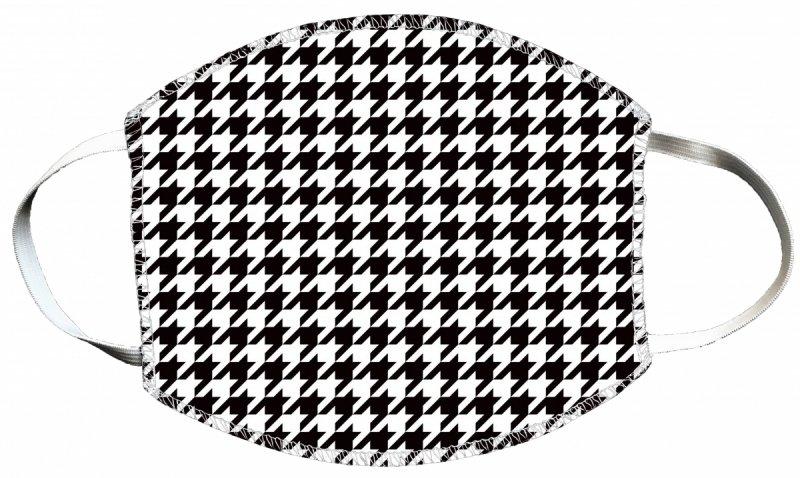 Maska z nadrukiem 2-warstwowa wielorazowa 60°C wz. 16 PEPITKA