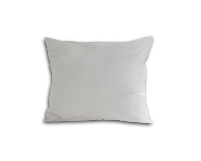 Poszewka na poduszkę 50x60 - 100% bawełna satynowa DARYMEX, zapięcie na zamek wz. biały