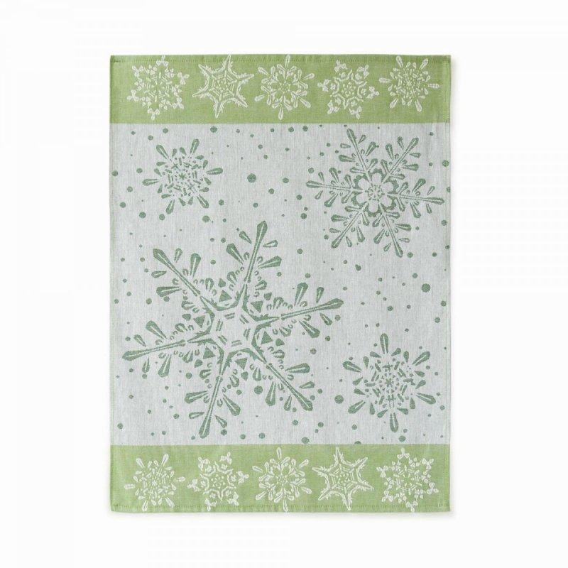 Ścierka Czapla 50x70 śnieżka zielona