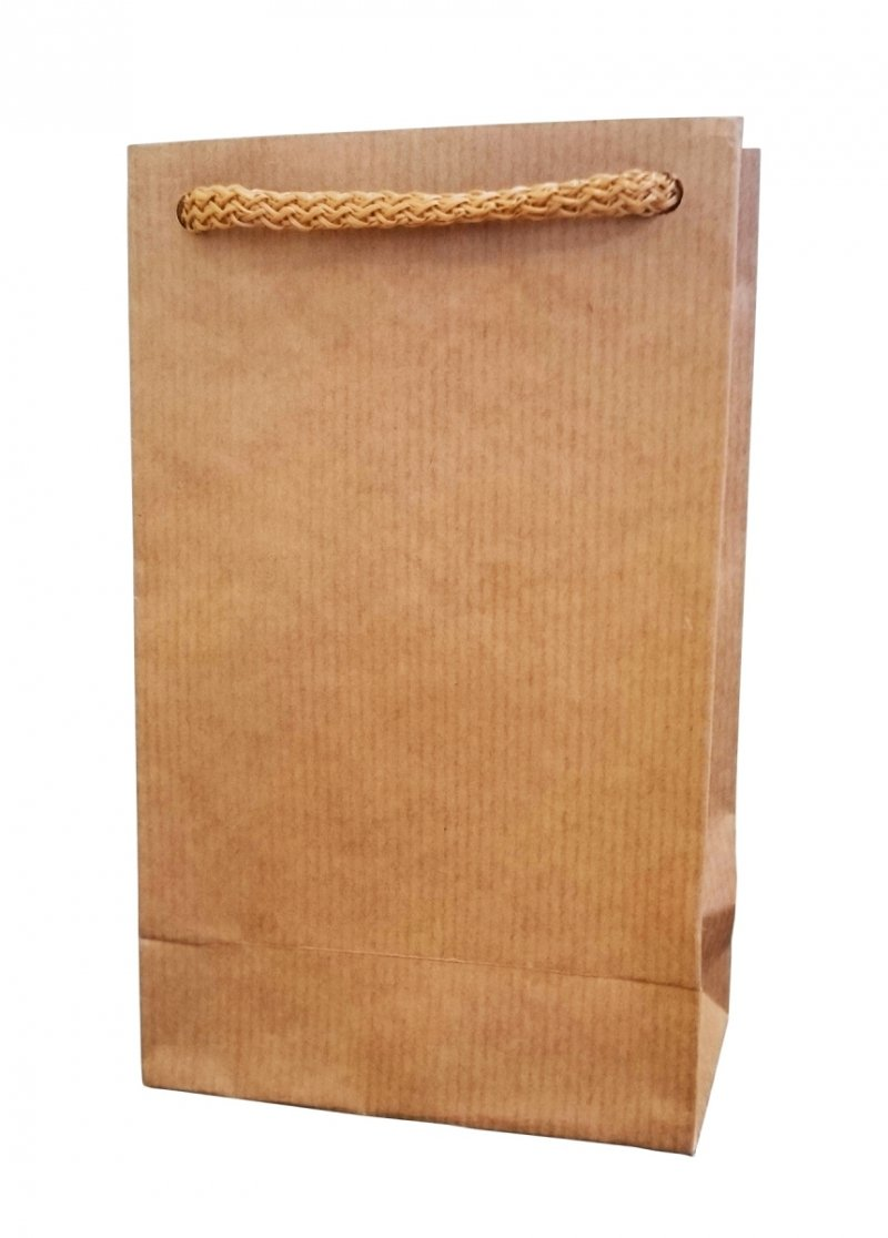 Opakowanie, torba papierowa 18x11cm wz. EKO WR