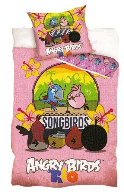 Pościel licencyjna 100% bawełna 160x200 - Angry Birds-AB8012