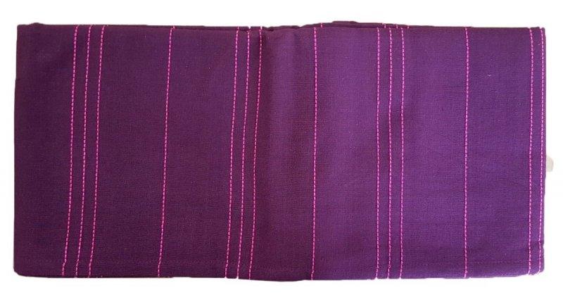 Obrus bawełniany sym.231 Rozmiar: 140x180 fioletowy