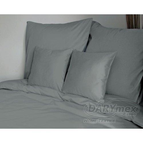 Poszewki na poduszki 40x40 satyna DARYMEX wz. jasny szary