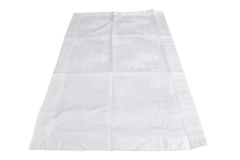 Obrus teflonowy rozmiar 50x100 wzór biały (239)