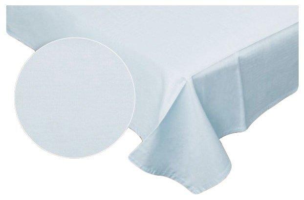 Prześcieradło RUBIN 100% bawełna 160x200 bez gumki wz. jasny niebieski 506/T