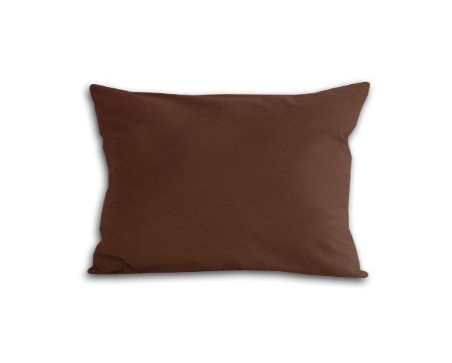 Poszewka na poduszkę 70x80 - 100% bawełna satynowa DARYMEX, zapięcie na zamek wz. brąz 80053