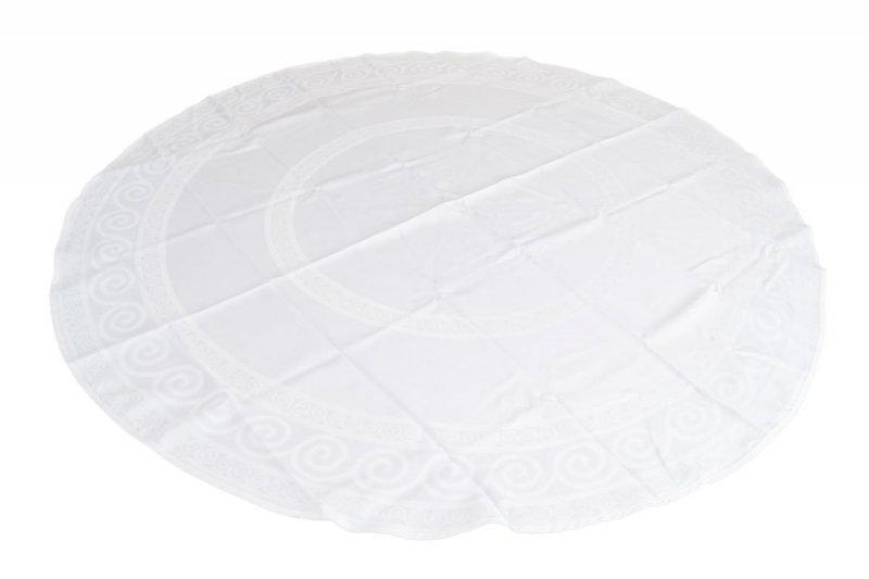 Obrus teflonowy bello rozmiar 160cm wzór biały (253)
