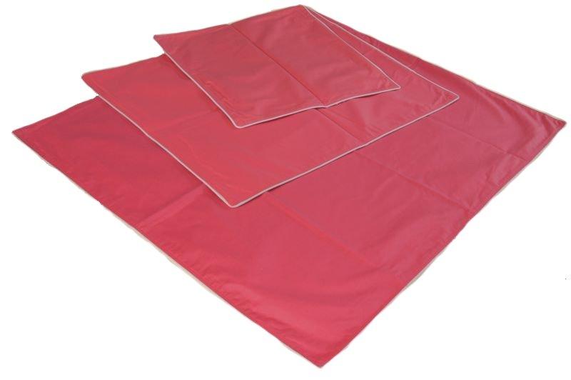 Wsypa na poduszkę rozmiar 70x80 wz. różowy