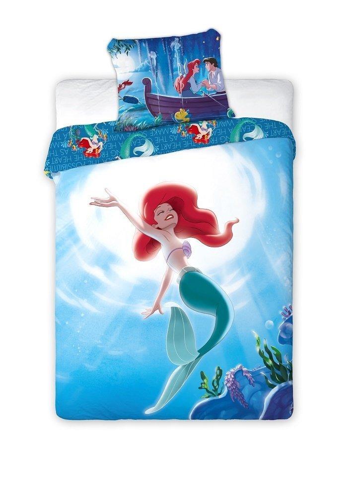 Pościel licencyjna Disney 100% bawełna 160x200 lub 140x200 - Princess - wz. Princess 059
