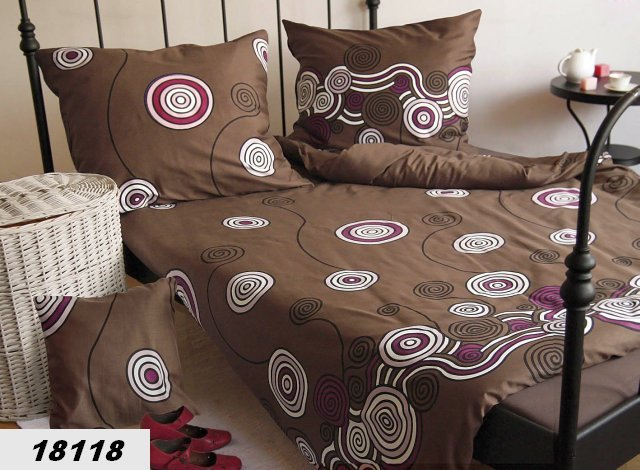 Poszewki na poduszki 70x80 - bawełna satynowa ANDROPOL wz. 18118