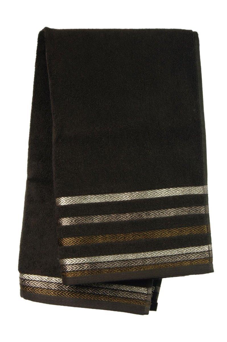 Ręcznik BIANNA 50x90 kolor brązowy