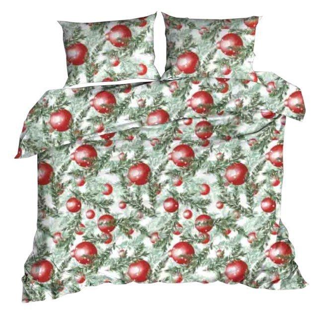 Pościel świąteczna 160x200, 100% bawełna wz. CH 39